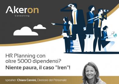 """HR Planning con oltre 5000 dipendenti? Niente paura, il caso """"Iren""""!"""