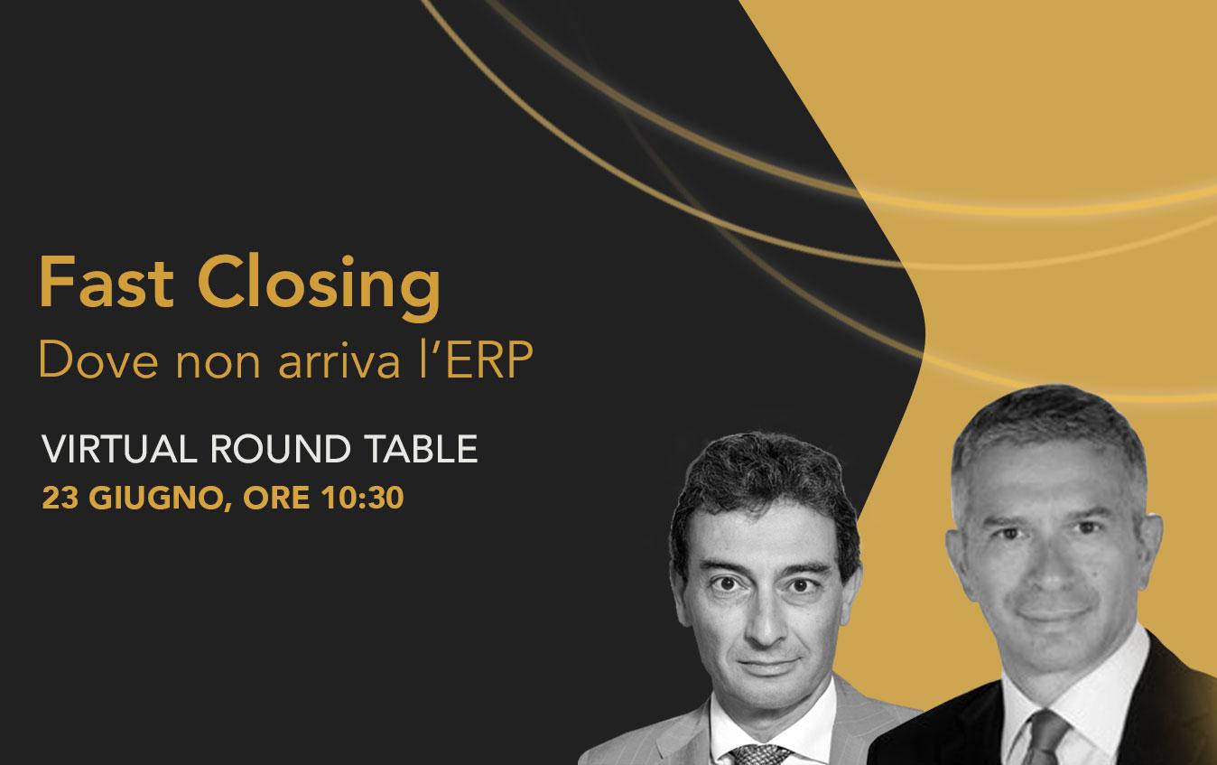 Fast Closing: dove non arriva l'ERP